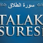 Talak Suresi